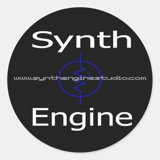 "Motor 3"" de Synth pegatina fijado (x6)"