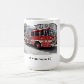 Motor 52 de Boston Taza Básica Blanca