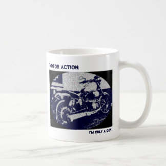 Motor Action Classic White Coffee Mug