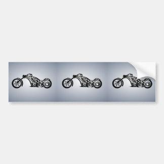 motor-bike-531004 TRIBAL TATTOO MOTORBIKE TRANSPOR Bumper Sticker