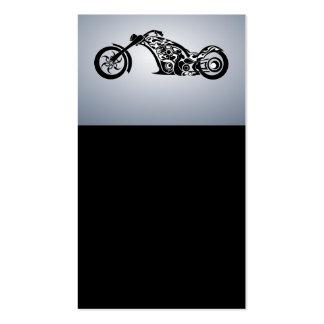motor-bike-531004 TRIBAL TATTOO MOTORBIKE TRANSPOR Double-Sided Standard Business Cards (Pack Of 100)