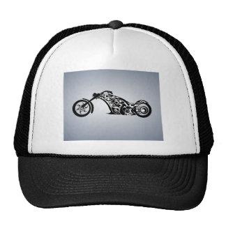 motor-bike-531004 TRIBAL TATTOO MOTORBIKE TRANSPOR Trucker Hat