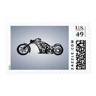 motor-bike-531004 TRIBAL TATTOO MOTORBIKE TRANSPOR Postage Stamps