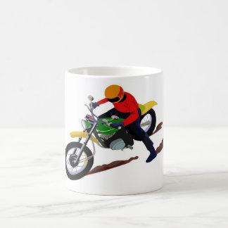 MOTOR BIKE CLASSIC WHITE COFFEE MUG