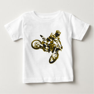 motor bike cross-country race baby T-Shirt