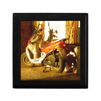 Motor Bike in Evening Sun Gift Box