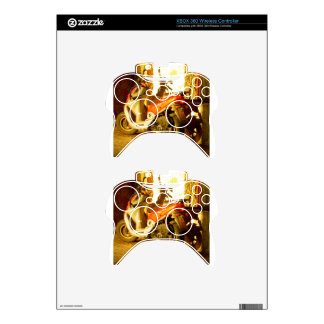 Motor Bike in Evening Sun Xbox 360 Controller Decal