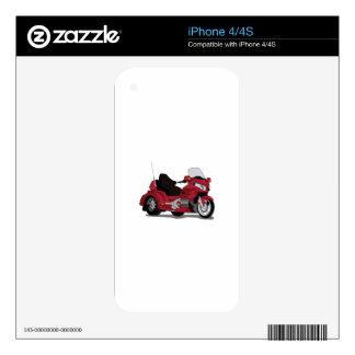 Motor Bike iPhone 4 Decal
