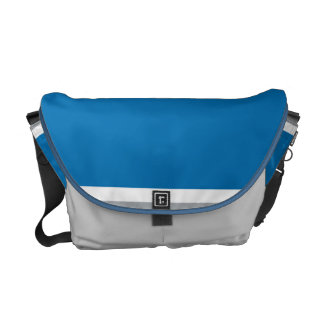 Motor Blue Messenger Bag