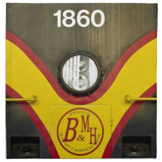 Motor BMH del tren Servilletas
