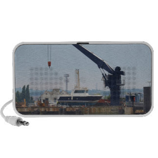 Motor Boat And Crane Speaker System