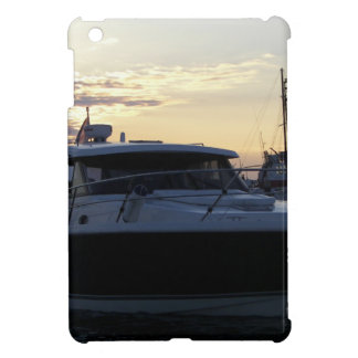 Motor Boat At Dusk Cases For iPad Mini