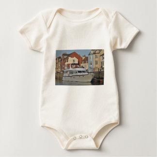 Motor Boat In Weymouth Baby Bodysuit