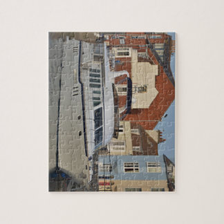 Motor Boat In Weymouth Jigsaw Puzzle
