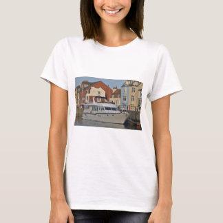 Motor Boat In Weymouth T-Shirt