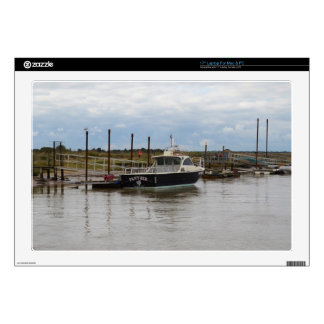 """Motor Boat Panther At Southwold Skin For 17"""" Laptop"""