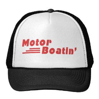 Motor Boatin Gorros Bordados
