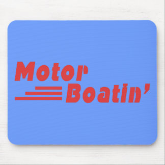 Motor Boatin' Mouse Pad
