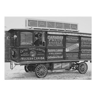 Motor Car for Canadian Government Colonization 190 Poster