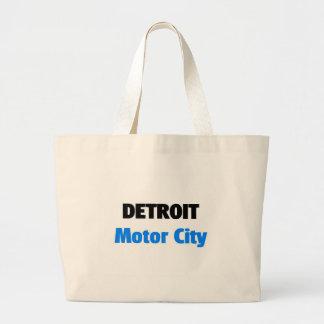 Motor City Detroit Large Tote Bag