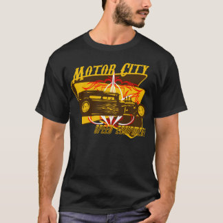 Motor City Speed Equipment Vintage Sign T-Shirt