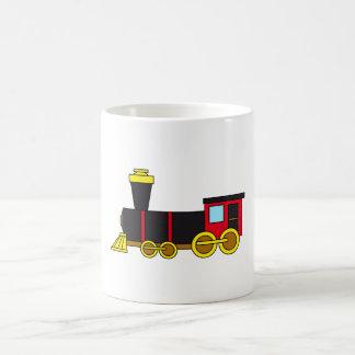 Motor clásico multicolor del tren/de la taza