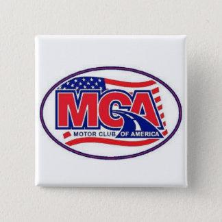 MOTOR CLUB AMERICA - MCA  40for80.com Pinback Button