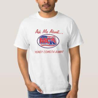 MOTOR CLUB AMERICA - MCA  40for80.com T-Shirt