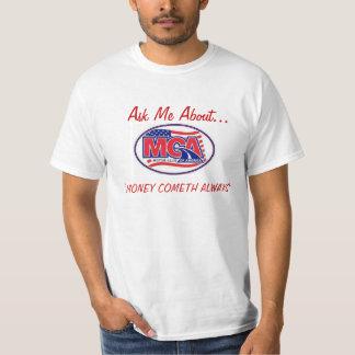 MOTOR CLUB AMERICA - MCA  40for80.com T Shirt