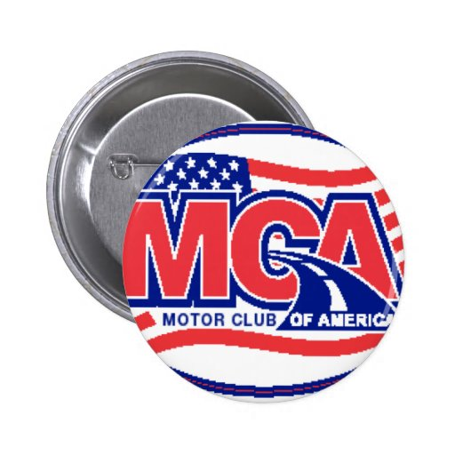 Motor Club Of America Pinback Button Zazzle