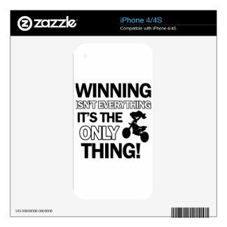 motor cross design decal for the iPhone 4S