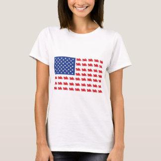 Motor-Cycle-Flag-Cruiser T-Shirt