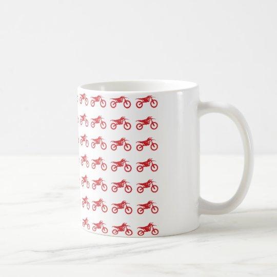 Motor-Cycle-Flag-Moto-Cross Coffee Mug