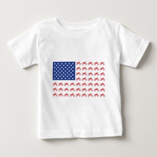 Motor-Cycle-Flag-Moto-Cross T Shirts