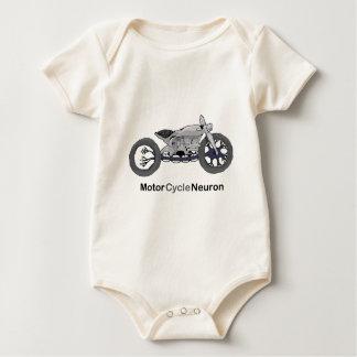 Motor Cycle Neuron Baby Bodysuit