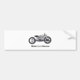 Motor Cycle Neuron Bumper Sticker