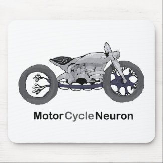Motor Cycle Neuron Mouse Pad