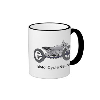 Motor Cycle Neuron Ringer Coffee Mug