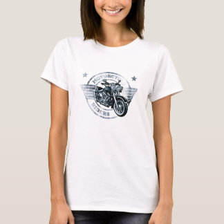 Motor Cycle Rider Biker T-Shirt