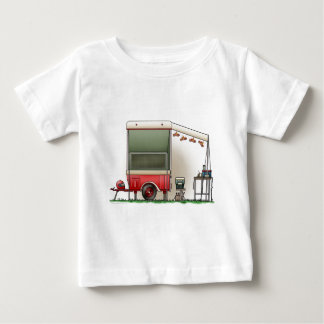 Motor Cycle Trailer Camper Baby T-Shirt