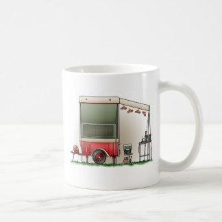 Motor Cycle Trailer Camper Coffee Mug