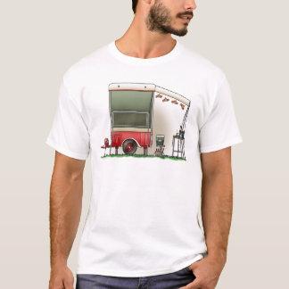 Motor Cycle Trailer Camper T-Shirt
