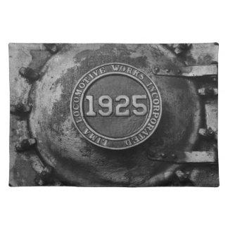 Motor de 1925 trenes manteles individuales