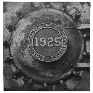 Motor de 1925 trenes servilletas de papel