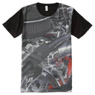 Motor de coche fresco
