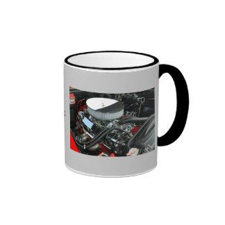 Motor de coche taza de dos colores