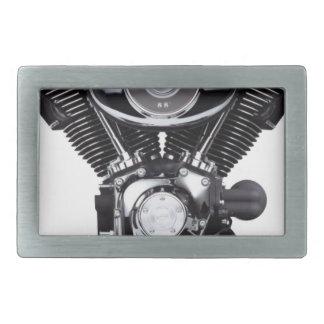 Motor de la motocicleta hebilla cinturón rectangular