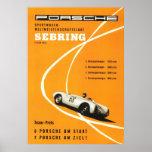 Motor de Sebring de los años 60 del vintage que co Posters