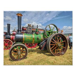 Motor de tracción del vapor cojinete