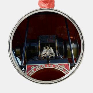Motor de tracción delantero del detalle adorno navideño redondo de metal